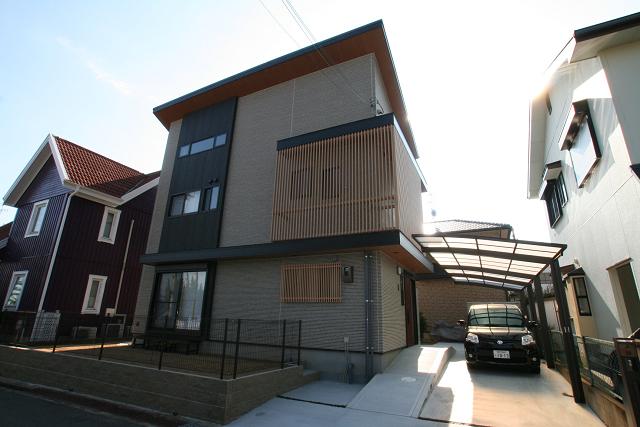 宝塚市の注文住宅 逆瀬川はうじんぐ 「逆瀬台G様邸」