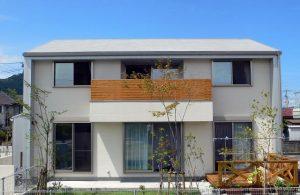 片流れ屋根その5|逆瀬川はうじんぐ 注文住宅の外観