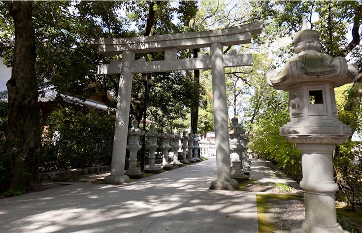 宝塚随一の古社 伊和志津神社