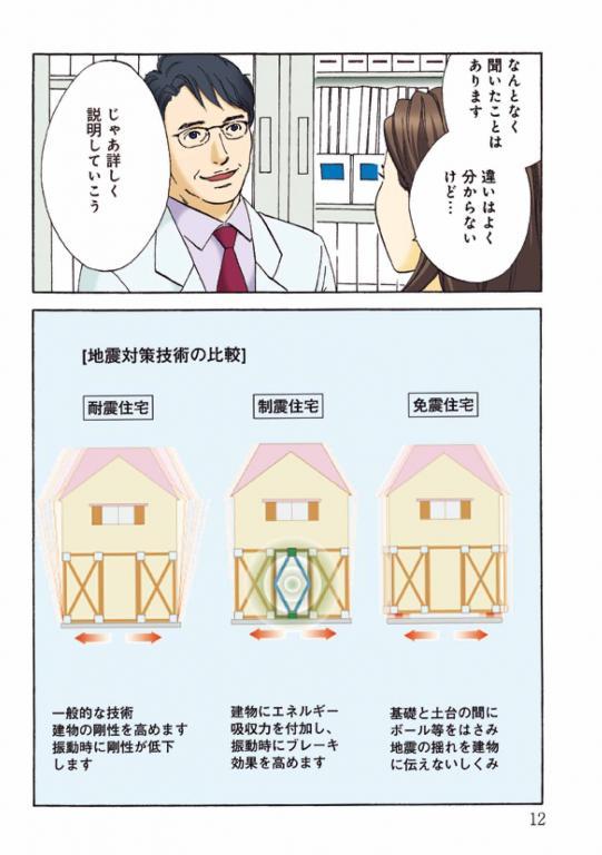 漫画でわかる知って得する~木造住宅のための~「知って得する地震対策」 14