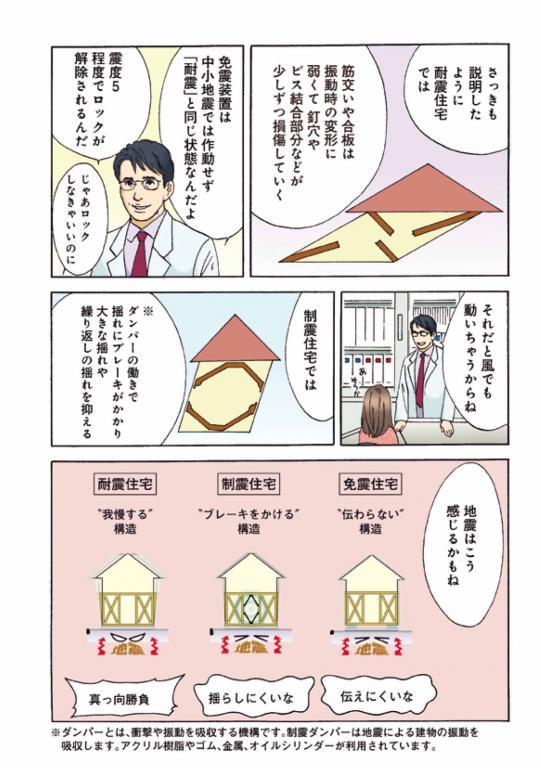 漫画でわかる知って得する~木造住宅のための~「知って得する地震対策」 15
