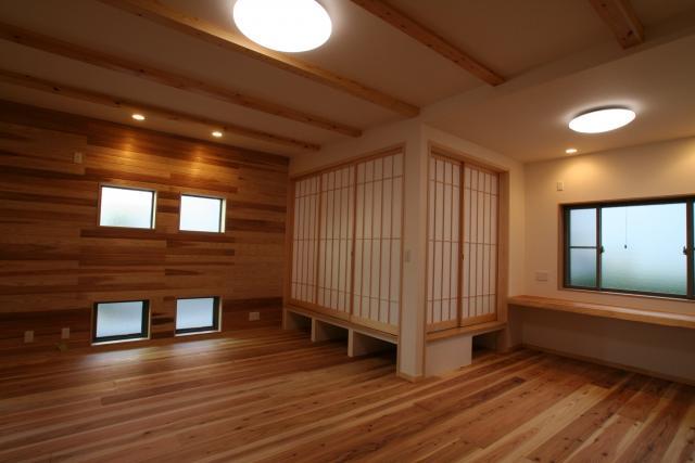 神社通りの京都風和モダンなお家 3|逆瀬川はうじんぐ施工事例