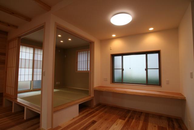 神社通りの京都風和モダンなお家 4|逆瀬川はうじんぐ施工事例