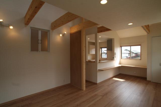 ワンホール型の2階リビングの家 3|宝塚市の逆瀬川はうじんぐ施工事例
