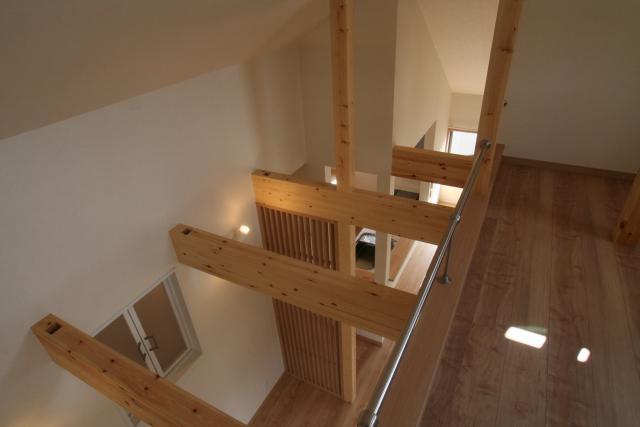 ワンホール型の2階リビングの家 4|宝塚市の逆瀬川はうじんぐ施工事例