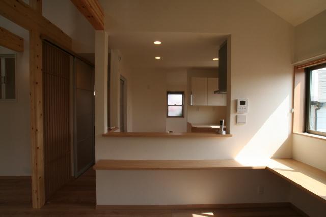 ワンホール型の2階リビングの家 11|宝塚市の逆瀬川はうじんぐ施工事例